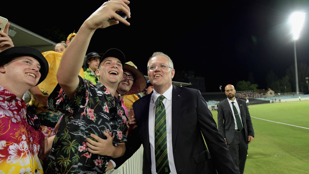 ScoMo, a man of the people.