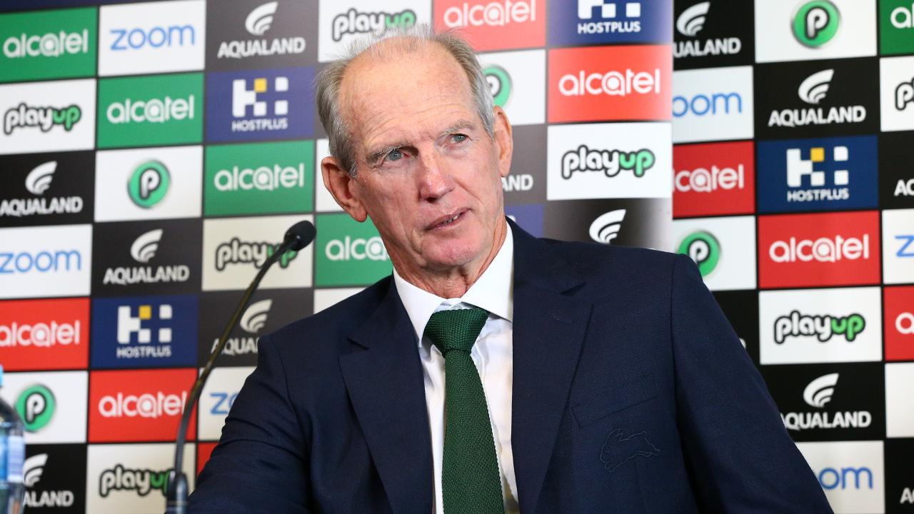 Wayne Bennett has taken aim at the referees.