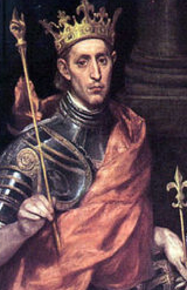 Louis IX of France acquired the crown of thorns in the 13th century.