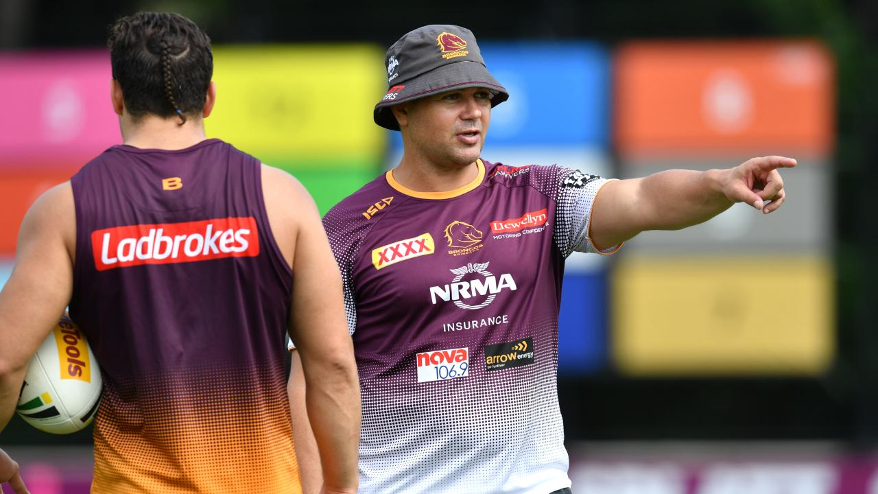 Anthony Seibold is hoping this weekend is the turning point for the Broncos.