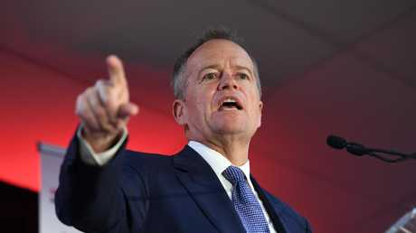 Federal Opposition Leader Bill Shorten arrives in the Sunshine State as Queenslanders have their say on coal, cost of living and the Olympics. Picture: AAP Image/Dan Peled