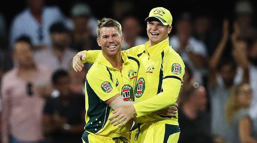 Australia must move forward with David Warner and Steve Smith. Image: Brett Costello