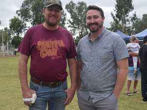 Shane Ramage and Ben Johnson at the Chinchilla