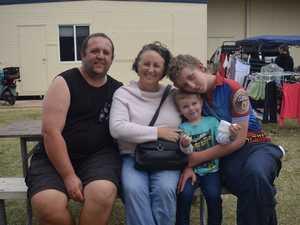 Lindsay Kimball, Kristina Fritsch, little Peter