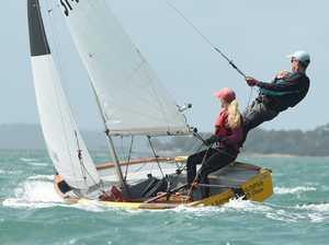 Maryborough Sailing Club 88th Easter Regatta - start