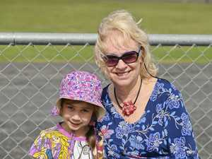Marburg Easter Sunday Raceday. Ellie, 6 , and