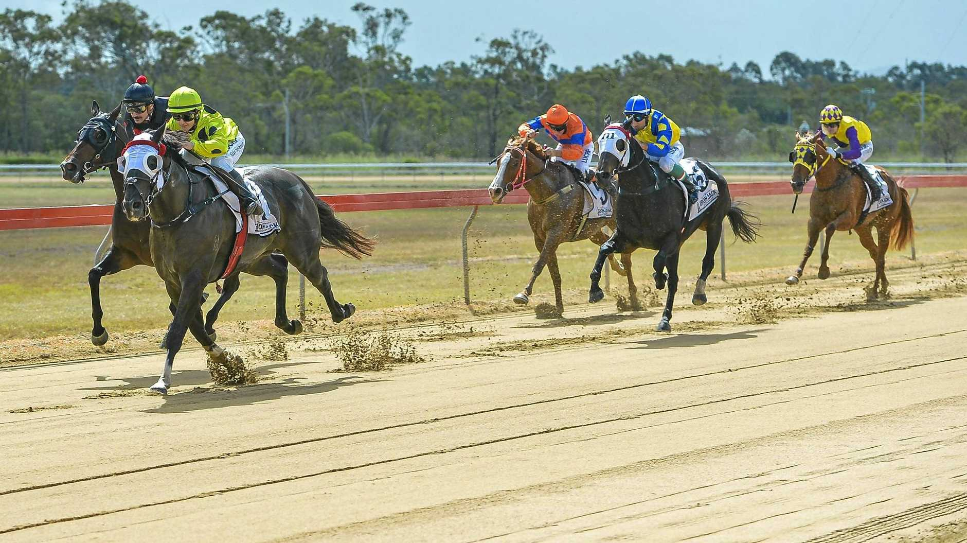William Melvin-trained More Worldly won the Matty Peters On The Bit race one ahead of Rosinca.