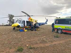 Man seriously injured after quad bike accident