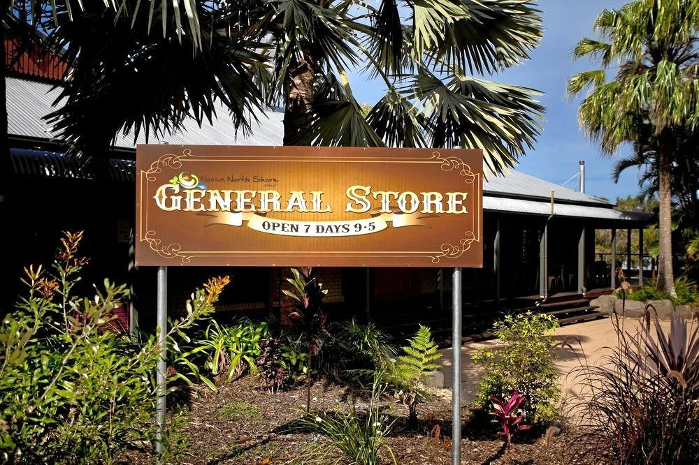 BURNED: Noosa North Shore general store.