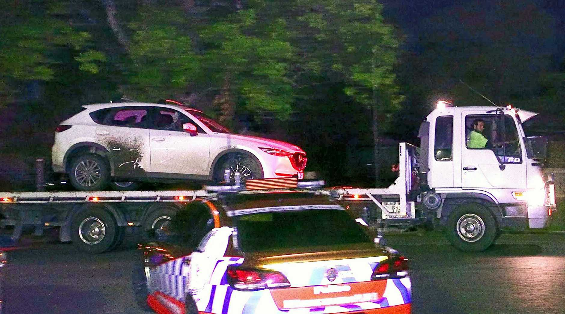 Four Queensland teens have been charged after allegedly stealing a car and then leading police on a high-speed chase.