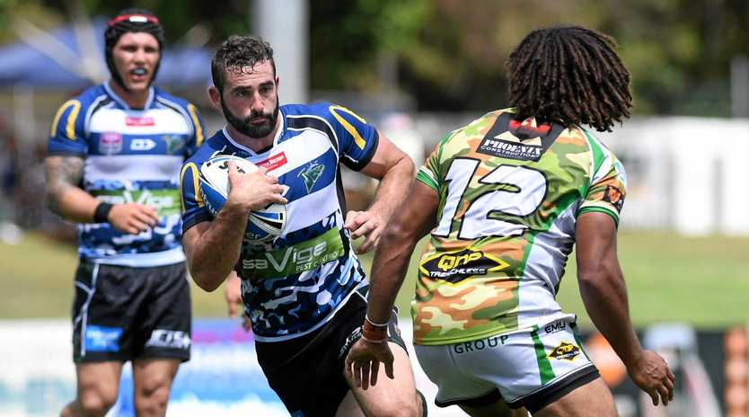 BIG MATCH PERFORMER: Ipswich Jets forward Josh Seage was one of his team's best in the history-making win over PNG Hunters at the weekend.