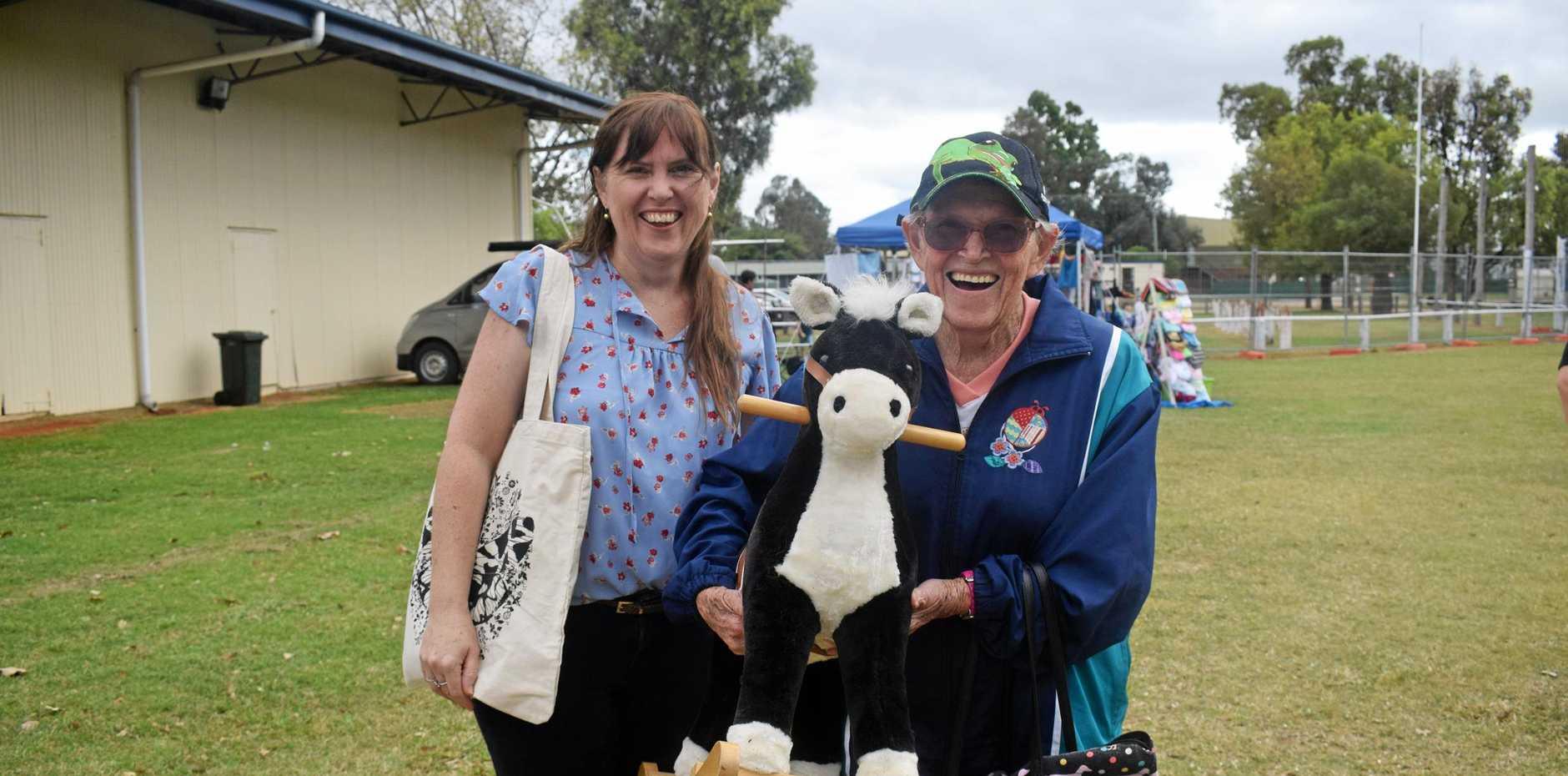 SUNDAY SMILES: Jodie Ramage and her mum Rilla Hoath.