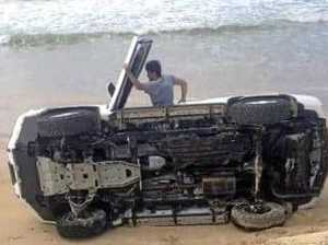 Dune driver rolls as beach claims second Easter victim