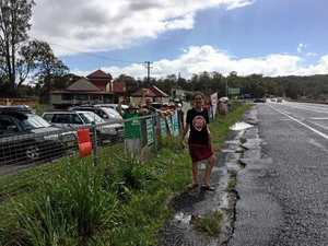 Anti-Adani convoy passes Maclean