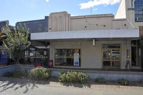 Toowoomba CBD vacancy, as seen along Margaret St, April 18, 2019.