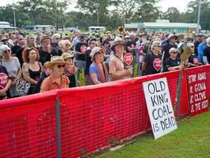 Hundreds of Adani protesters flood Coffs Harbour