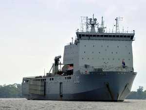 Hi-tech Chinese ships close in