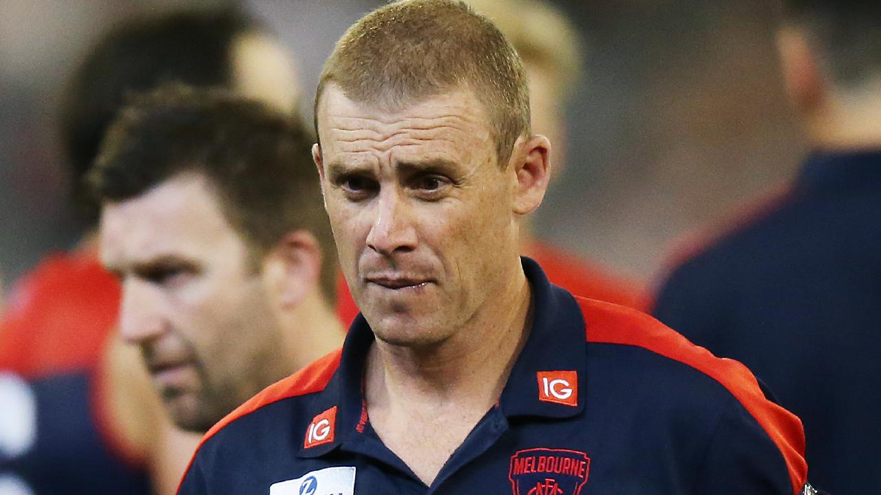 Melbourne coach Simon Goodwin. Picture: Getty Images