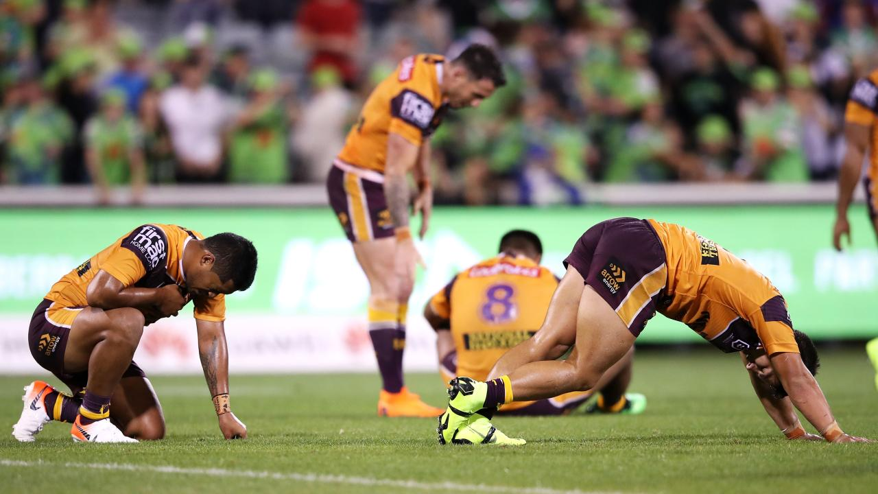 The Broncos could be looking at 2021 before their potential is reached. Picture: Mark Kolbe/Getty Images
