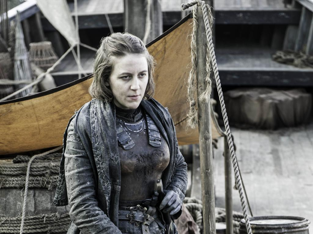Gemma Whelan in Game of Thrones.