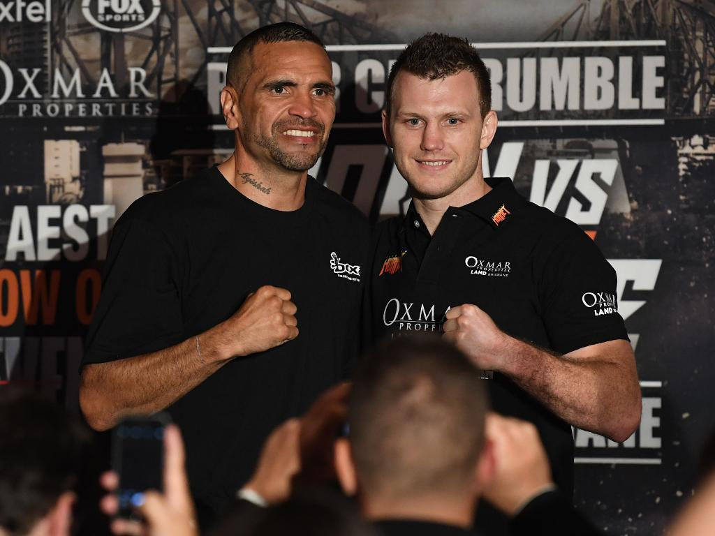 Anthony Mundine copped a beating in his boxing swansong.