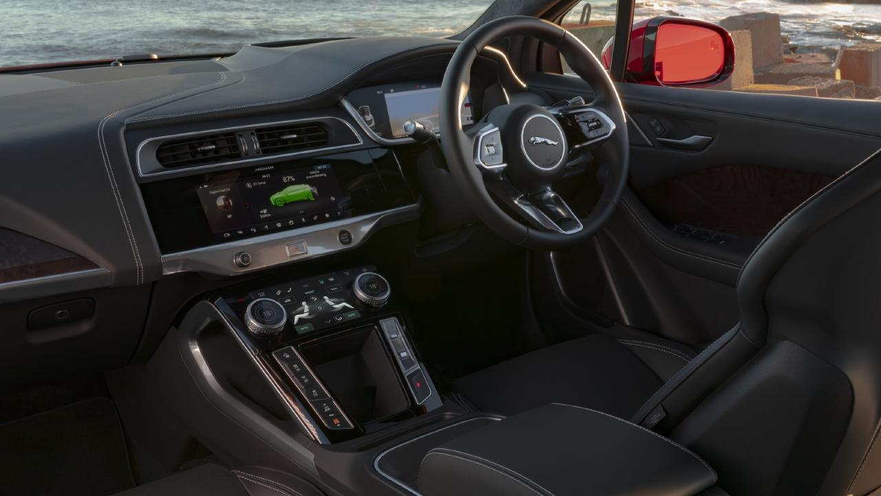 Using a number of the car's features — such as airconditioning — will lower the driving range.