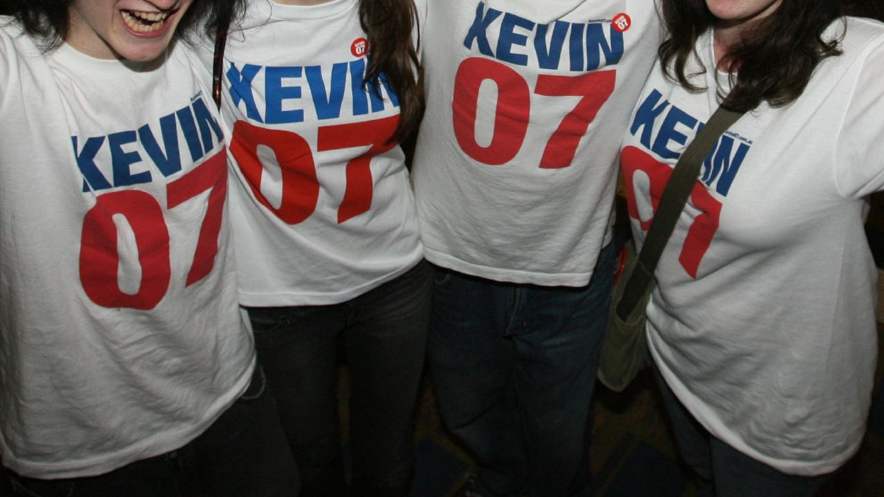 Some Kevin 07 T-shirts haven't ended up in landfill.