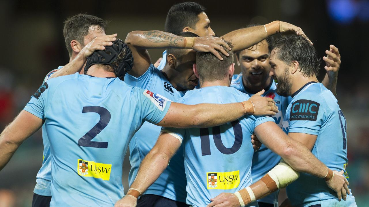 The Folau saga united the Waratahs. Picture: AAP