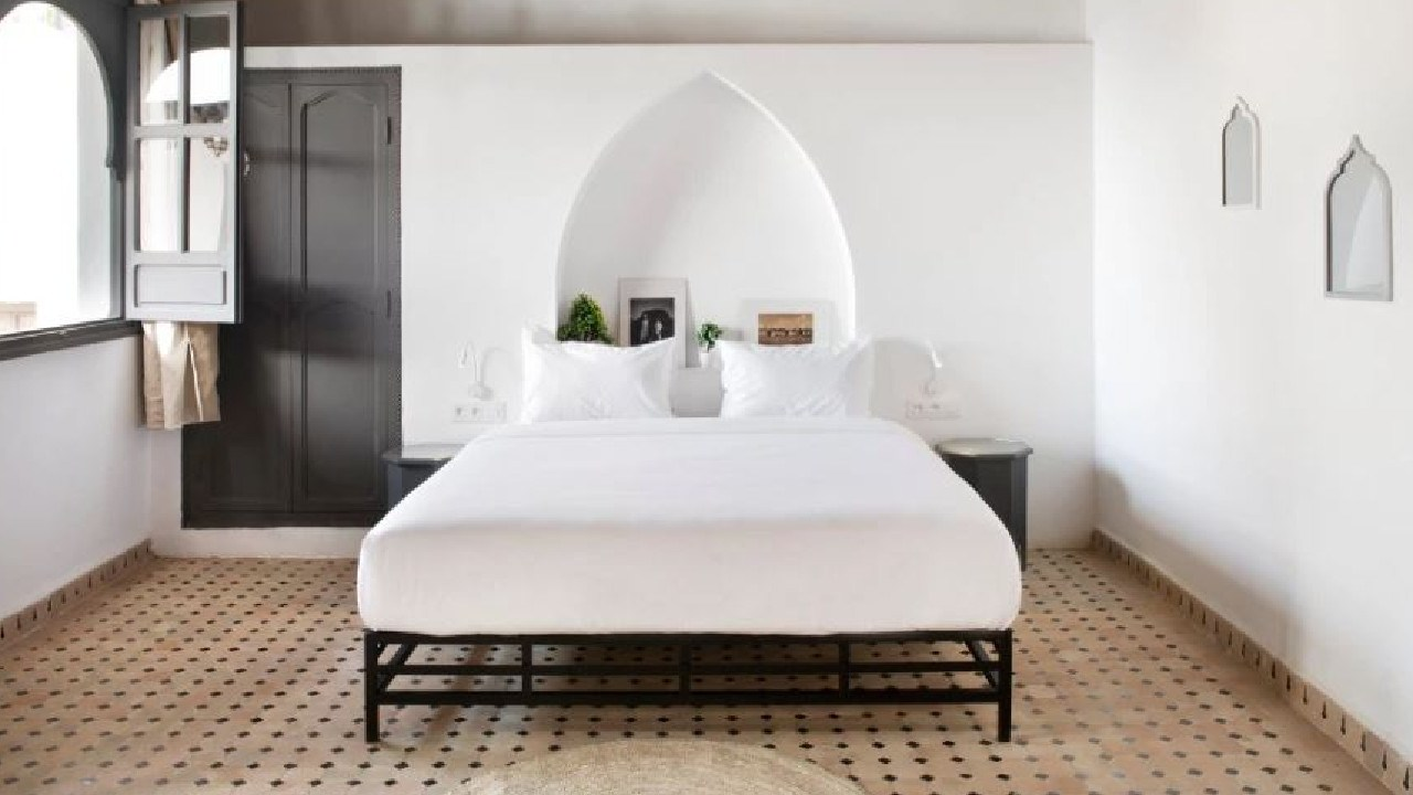 The hostel also houses some luxury double rooms at a bargain price. Picture: Rodamon Marrakech