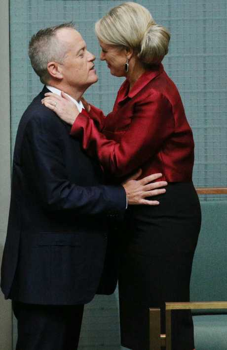 The Labor Party is hoping Ms Shorten will be the secret to boosting her husband's popularity as leader. Picture Gary Ramage