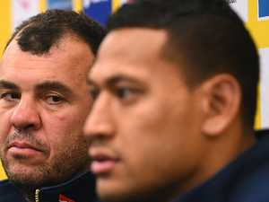 Slack: No I(zzy) in this team for Cheika