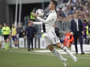 Ronaldo helps Juventus to record eighth-straight title