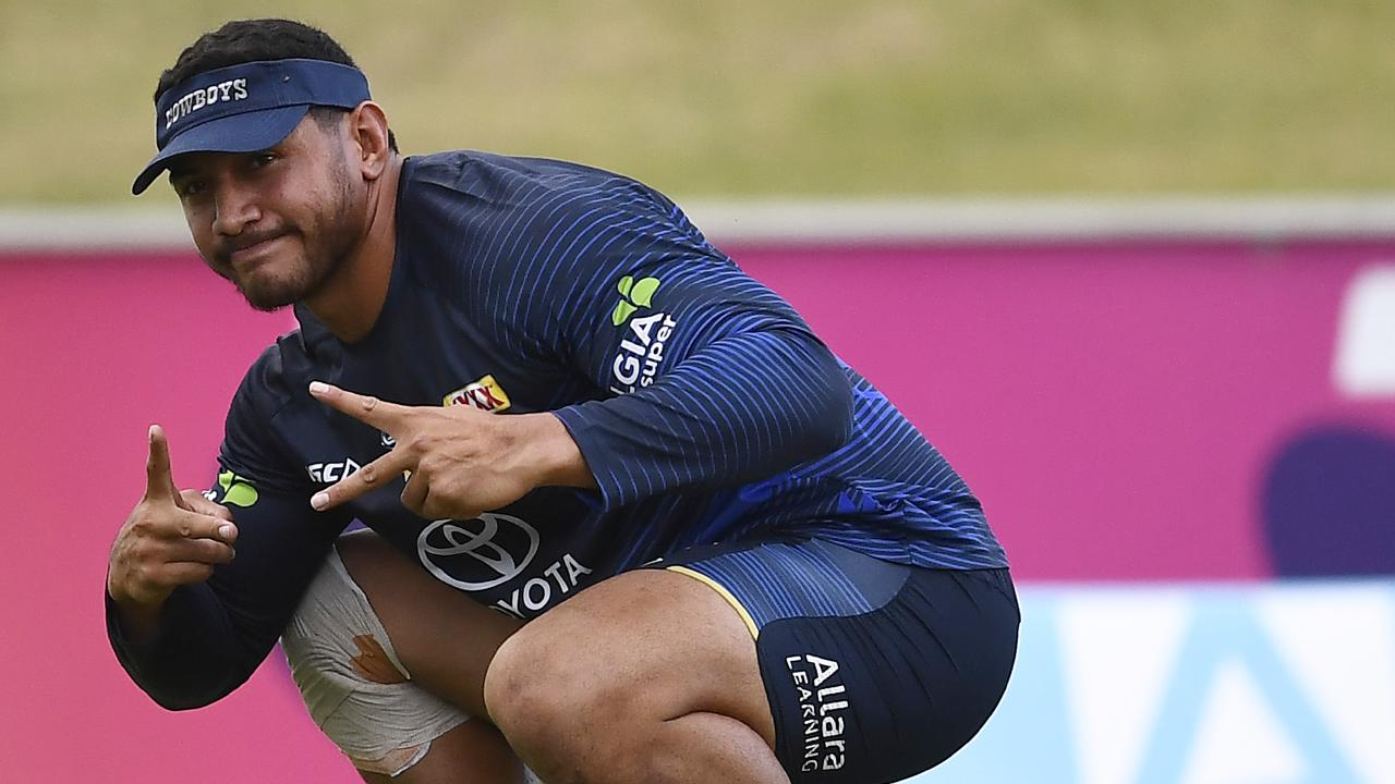 Jason Taumalolo is firming to return for the Cowboys. (Photo by Ian Hitchcock/Getty Images)