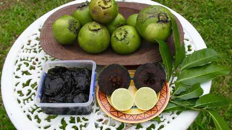 Black sapote by Yvonne Cunningham.