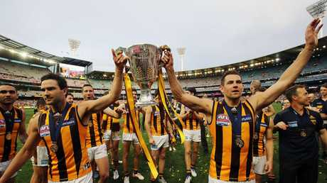 Leading Teams played a role in helping shape Hawthorn's era of success. Picture: Alex Coppel.