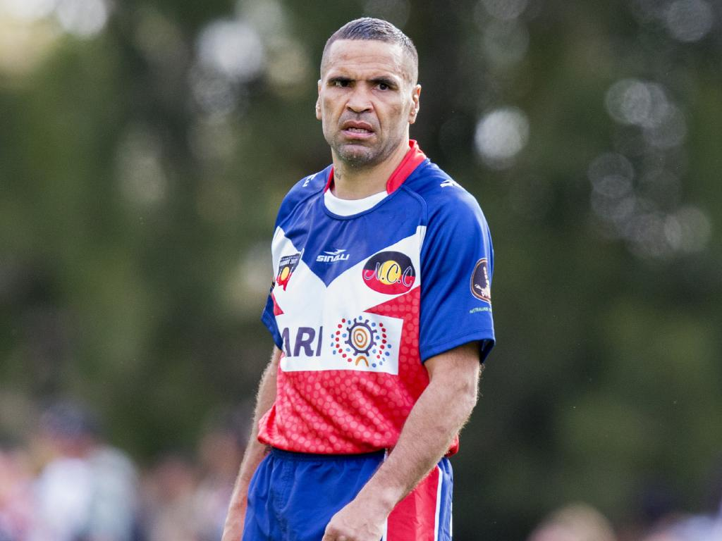 Anthony Mundine is back, again.
