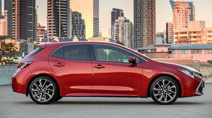 2019 Toyota Corolla Hybrid is a sporty fuel miser