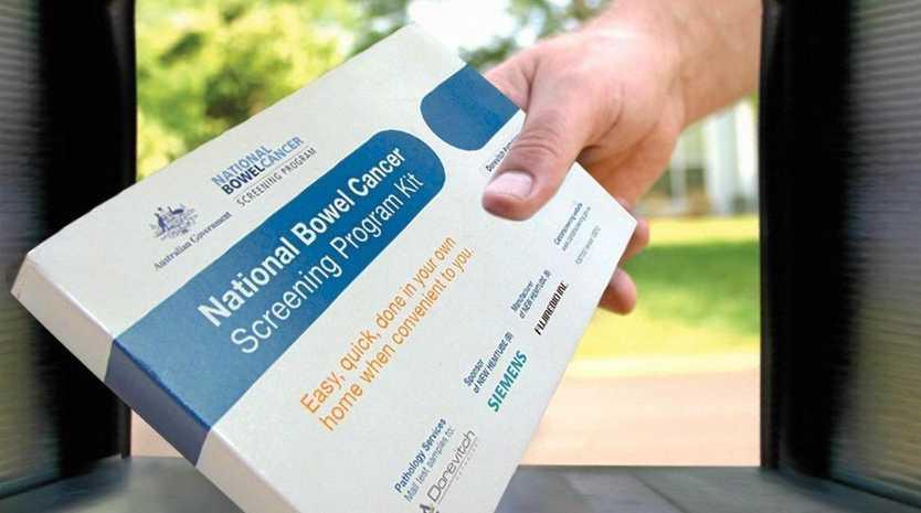 National Bowel Cancer Screening Program kit