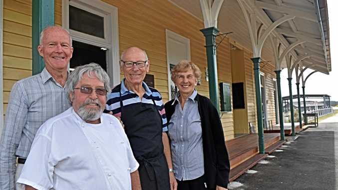 Art cafe opens at train station