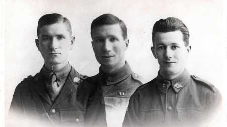 FAMILY HISTORY: Brothers Gordon, Jim and Rice Gemmell.