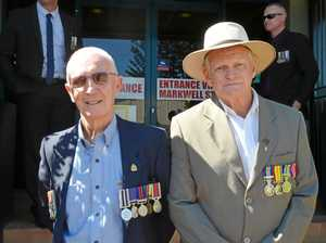Veterans march to big milestone 100 years on