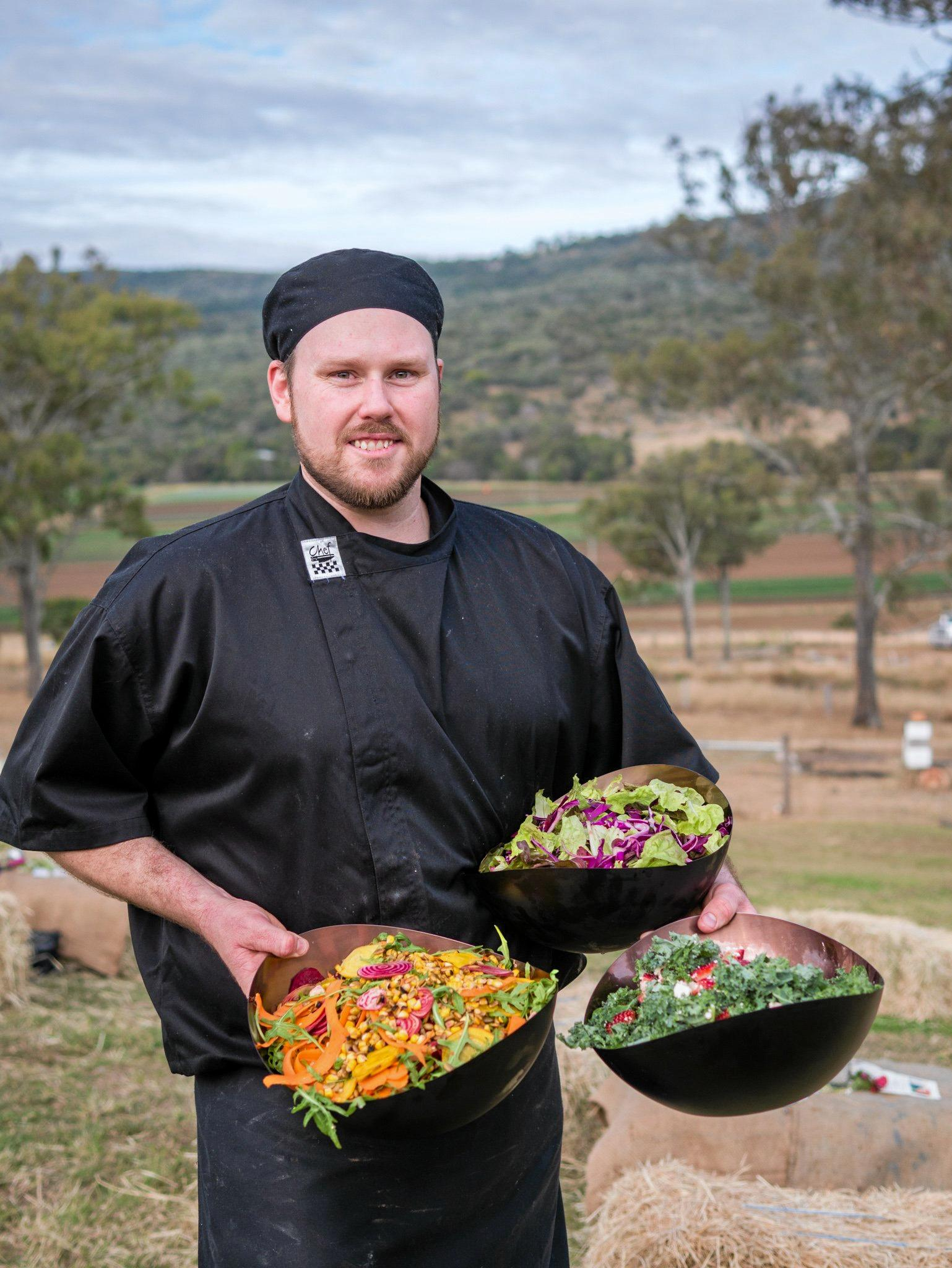 Eat Local Week served up an array of tasty dishes featuring local produce. Chef Matt plated up plenty of delicious meals at the Eat Local Week event, An Afternoon at Valley Pride Produce.