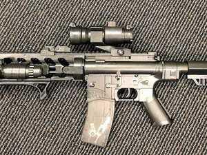Replica guns found during Lismore arrest