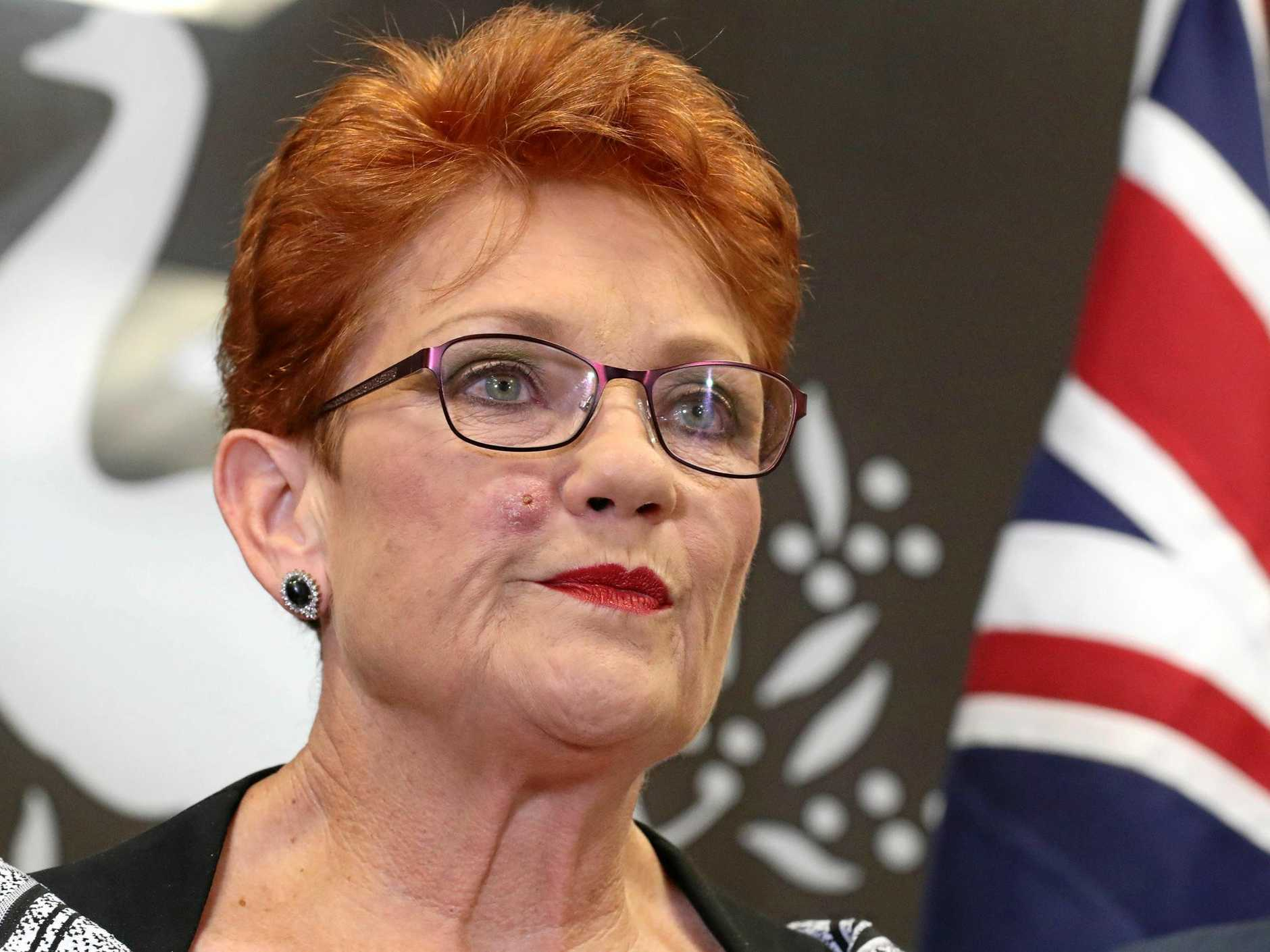Senator Pauline Hanson will arrive in Clermont today.