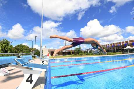 Gympie swimmer James Hangad age 13