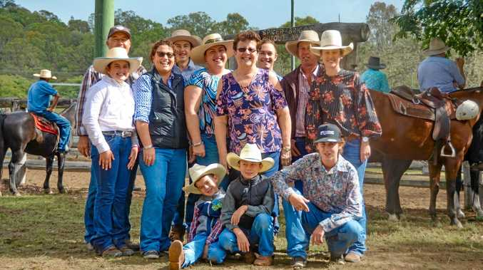 Show legend honoured as grandchildren compete in his arena