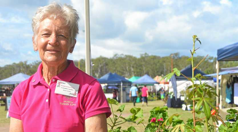 SUCCESS: President of the Wondai Garden Expo Helen Young.
