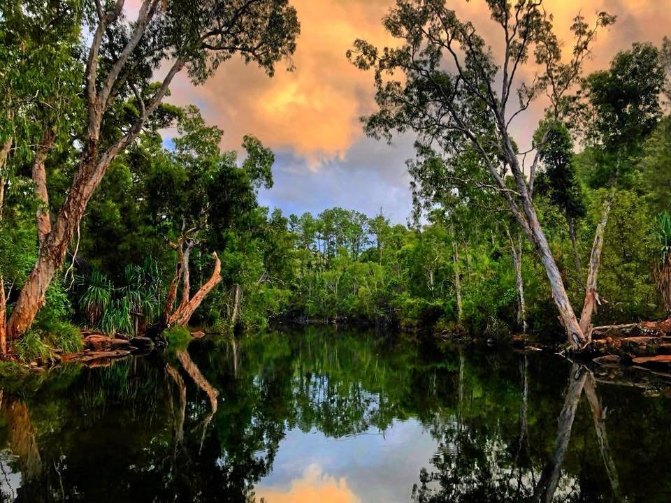 Kelly Louise shares a photo from picturesque Stony Creek in the Byfield National Park.