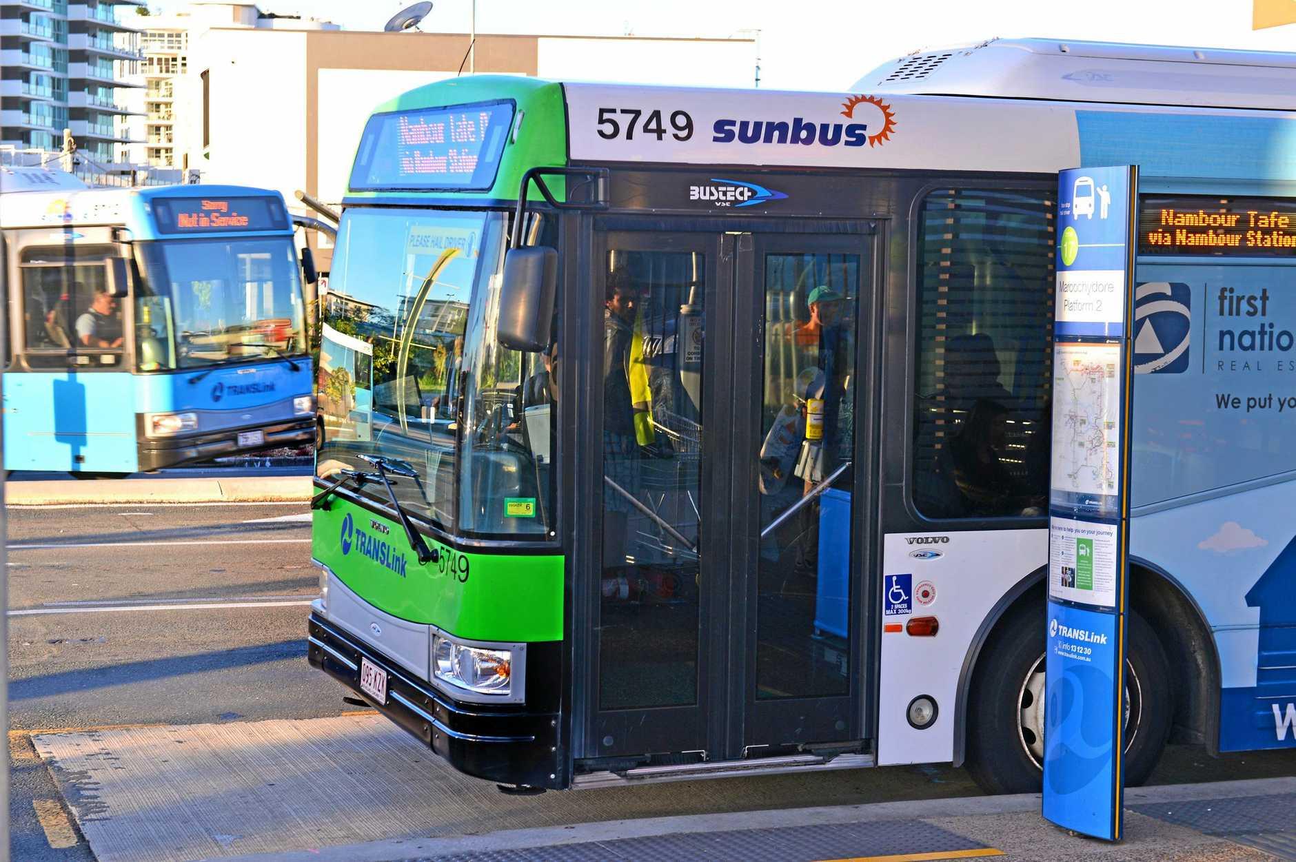 Sunbus. Public transport. Bus.  Photo: John McCutcheon / Sunshine Coast Daily