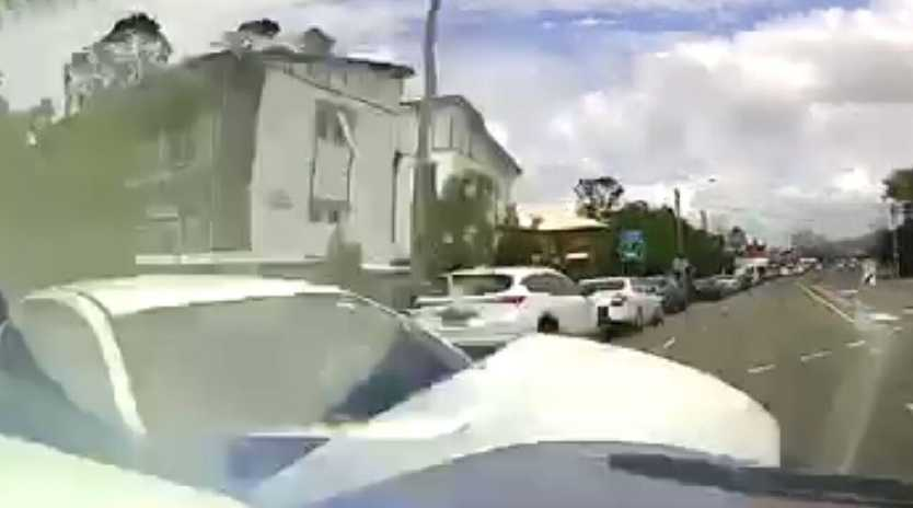 Dashcam video from Molly Bradshaw's accident during the trial